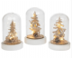 LED Starlight Christmas Dome with Wooden Scene. Available in 3 Styles 271616